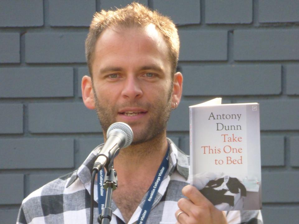 Antony Dunn reading 3