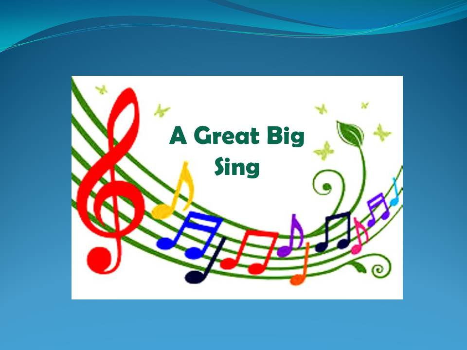 A Great Big SIng Event Header Image