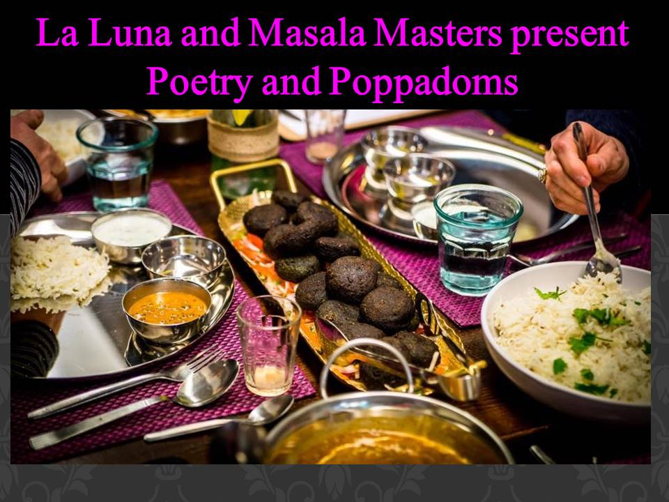 Poetry and Poppadoms header image