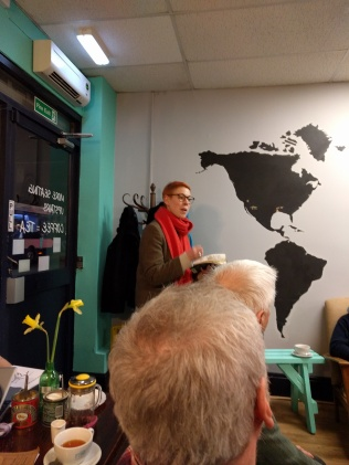 Helen Mort at the Poetry Cafe