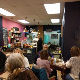 Guests at the Poetry Cafe
