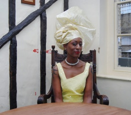 patience agbabi photo - wife of bafa
